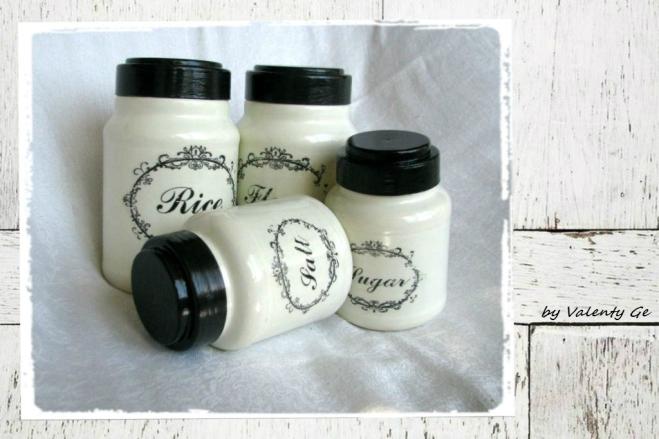 decoupage-french vintage-jars-1